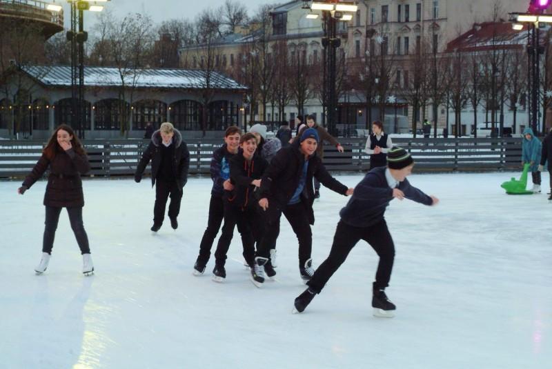Спортивная зимняя акция «Все на лед»
