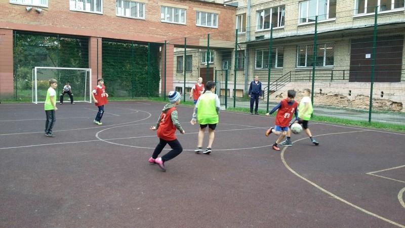 Чемпионат гимназии по мини-футболу