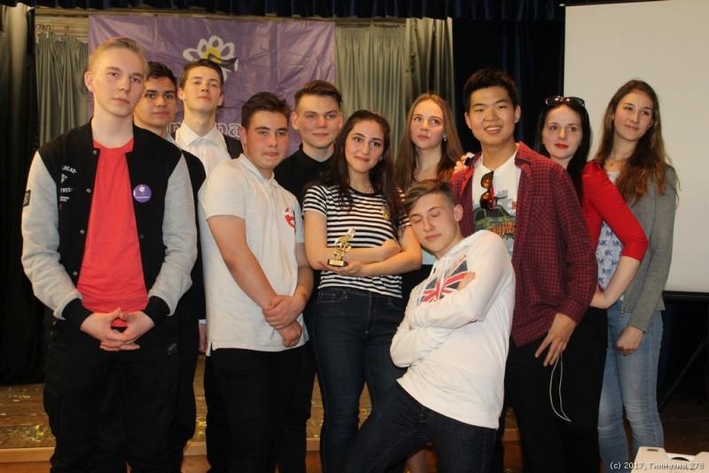 Конкурс исполнения песни на иностранном языке «Консонанс 2017» (школьный тур)