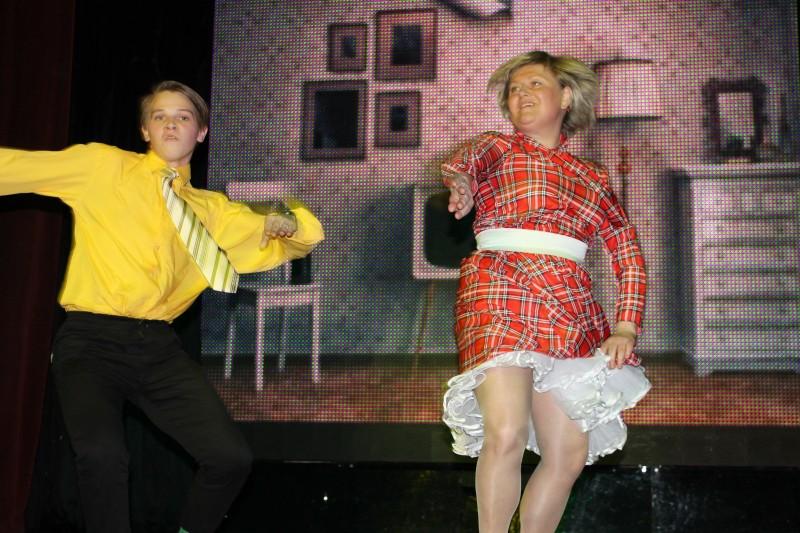 Танцы с учителями 2017