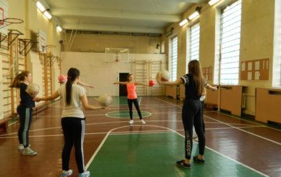 Мастер-класс по художественной гимнастике