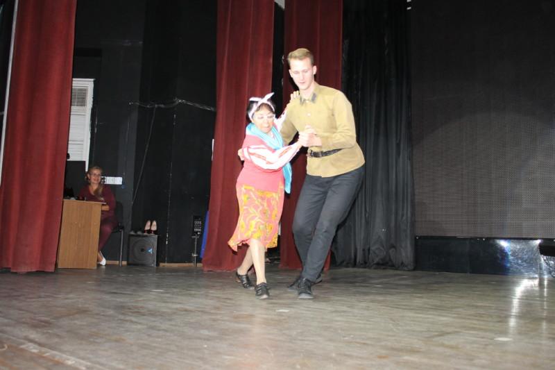 Танцы с учителями 2018