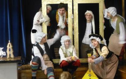 Премьера спектакля на немецком языке «Честное имя барона Мюнхаузена»
